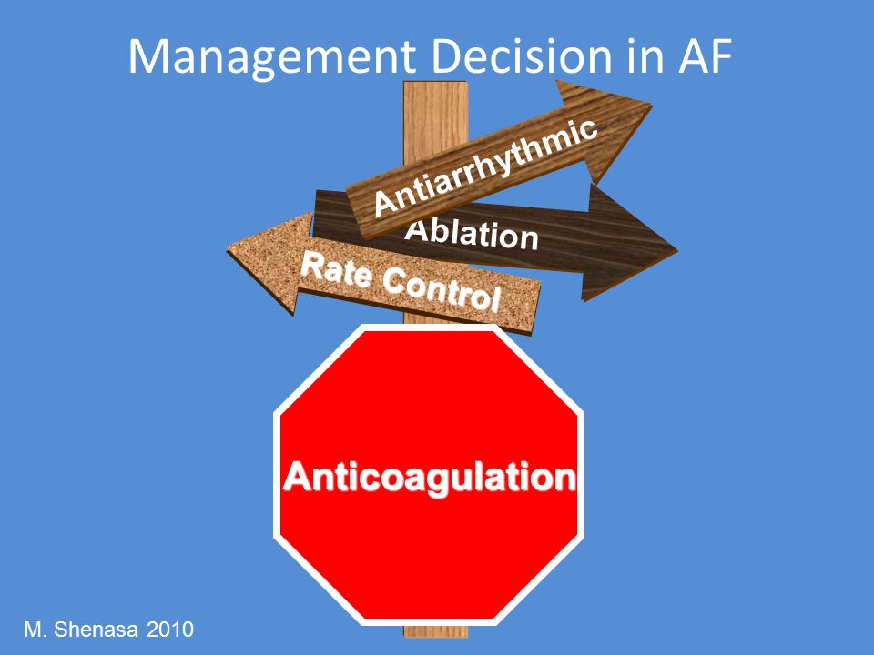 Management Decision in AF