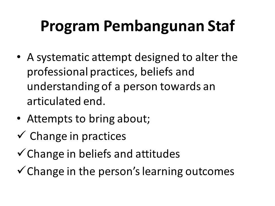 Program Pembangunan Staf