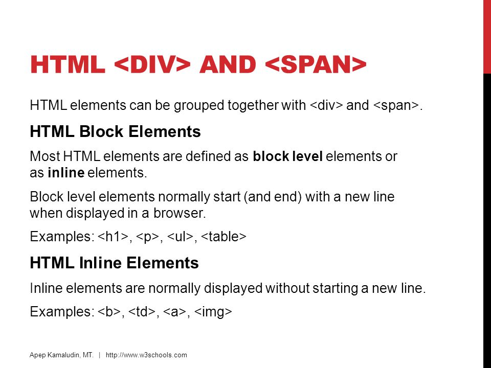 Images tables lists blocks layout forms iframes - Html div line ...