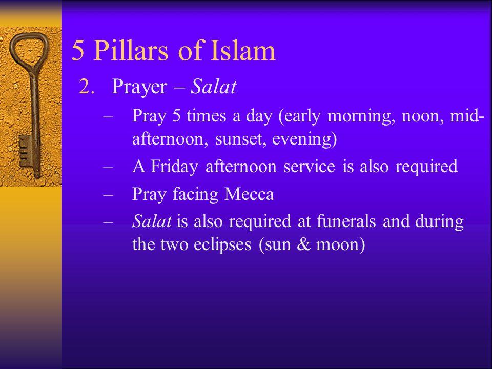 5 Pillars of Islam Prayer – Salat