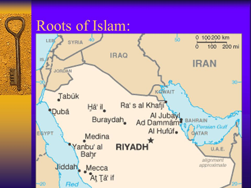 Roots of Islam: Muhammad's visions led him to believe that there was only one god, Allah – and he began to preach against the polytheism of his day.