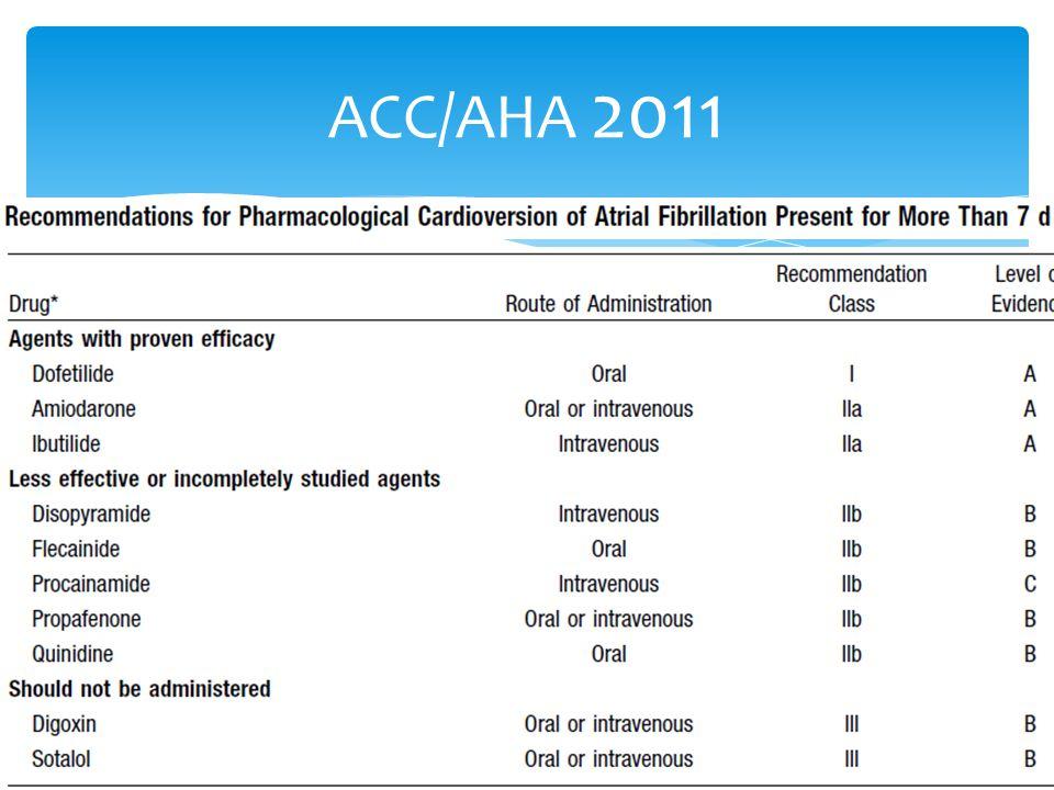 ACC/AHA 2011