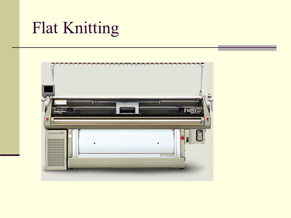 Flat Knitting