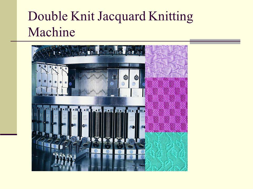 Double Knit Jacquard Knitting Machine