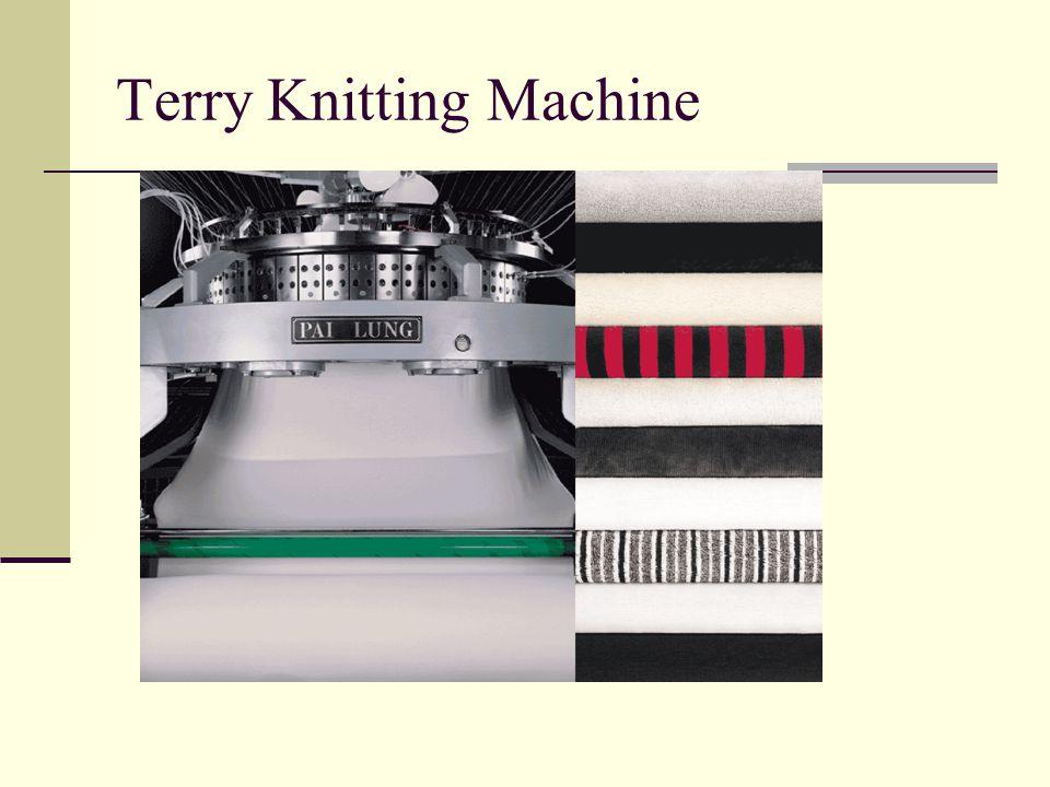 Terry Knitting Machine