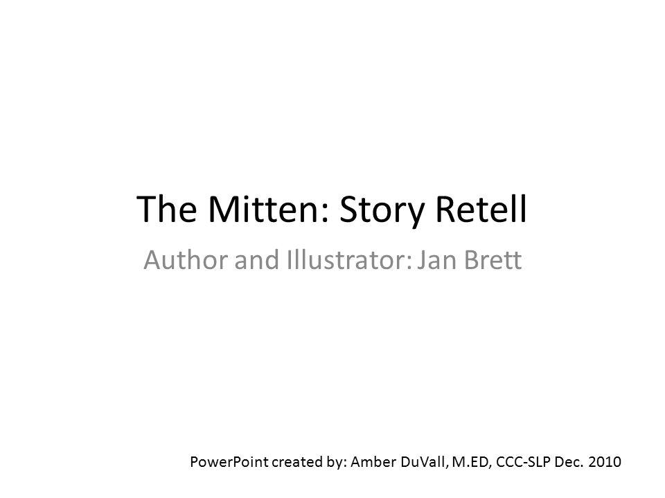 The Mitten: Story Retell