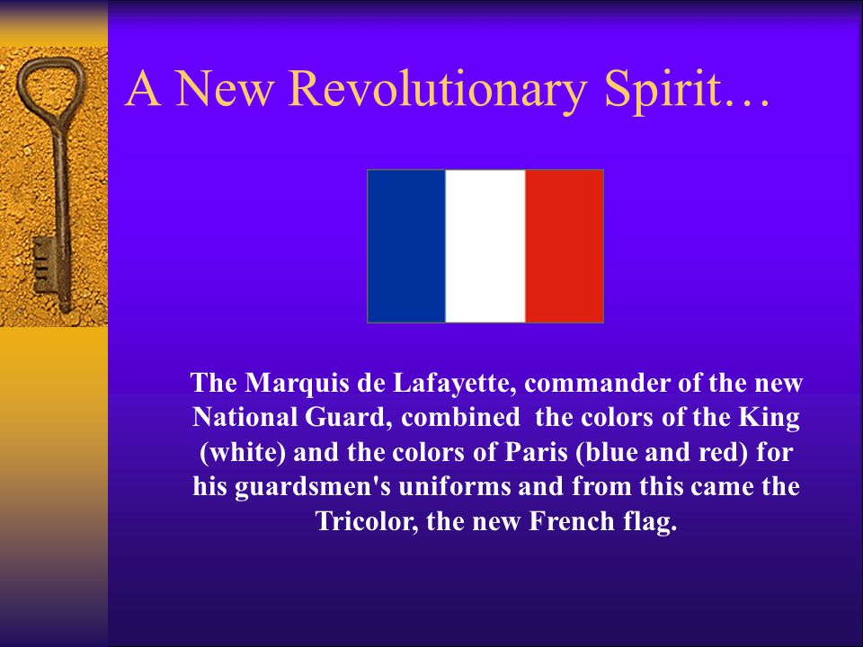 A New Revolutionary Spirit…