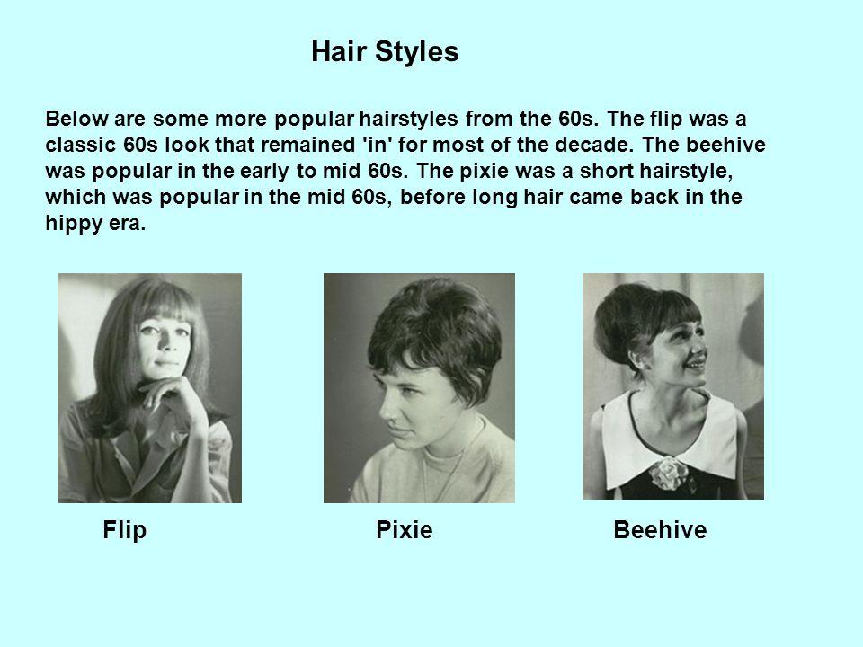 Hair Styles Flip Pixie Beehive