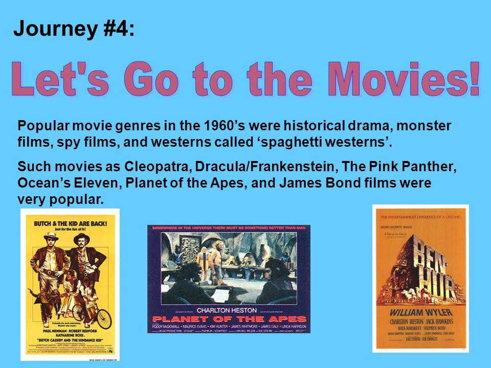 Let s Go to the Movies! Journey #4: