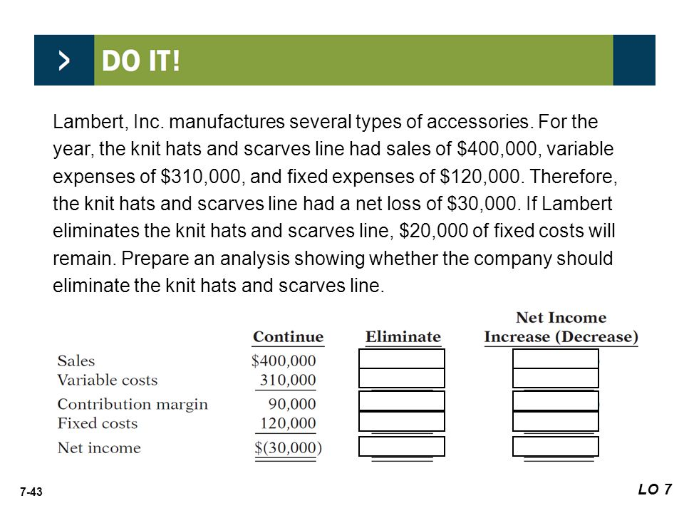 Lambert, Inc. manufactures several types of accessories