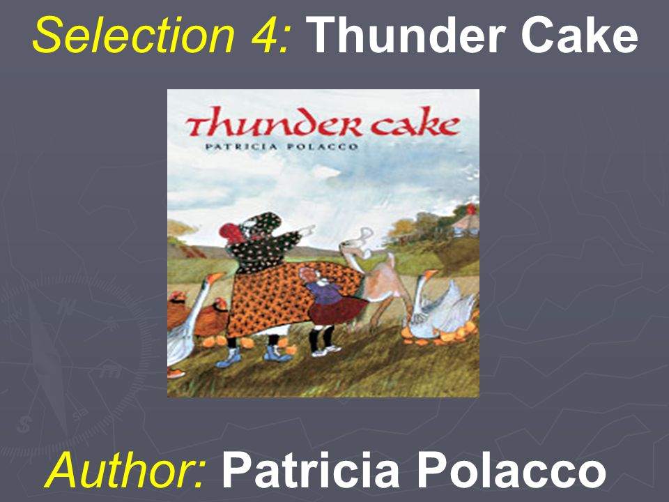 Selection 4: Thunder Cake