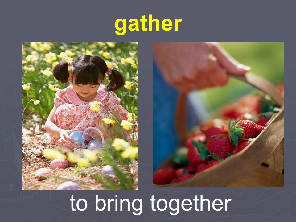 gather to bring together