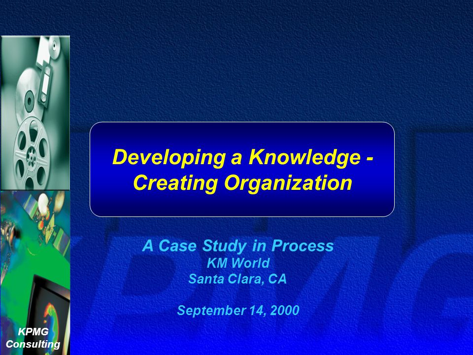 Developing a Knowledge -Creating Organization