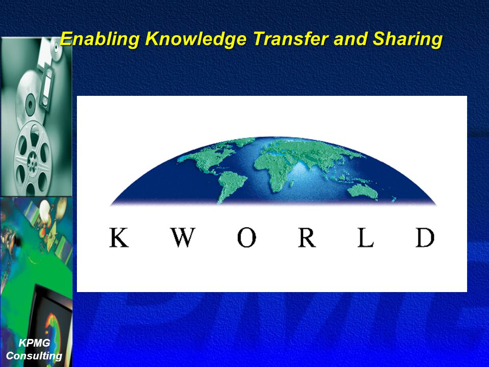 Enabling Knowledge Transfer and Sharing