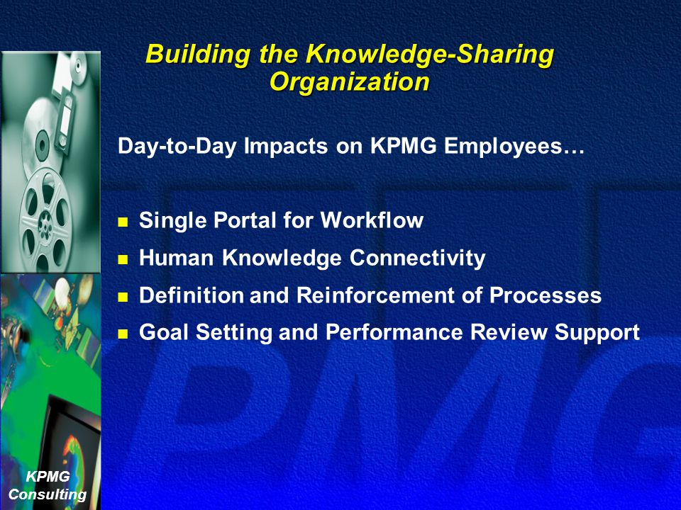Building the Knowledge-Sharing Organization