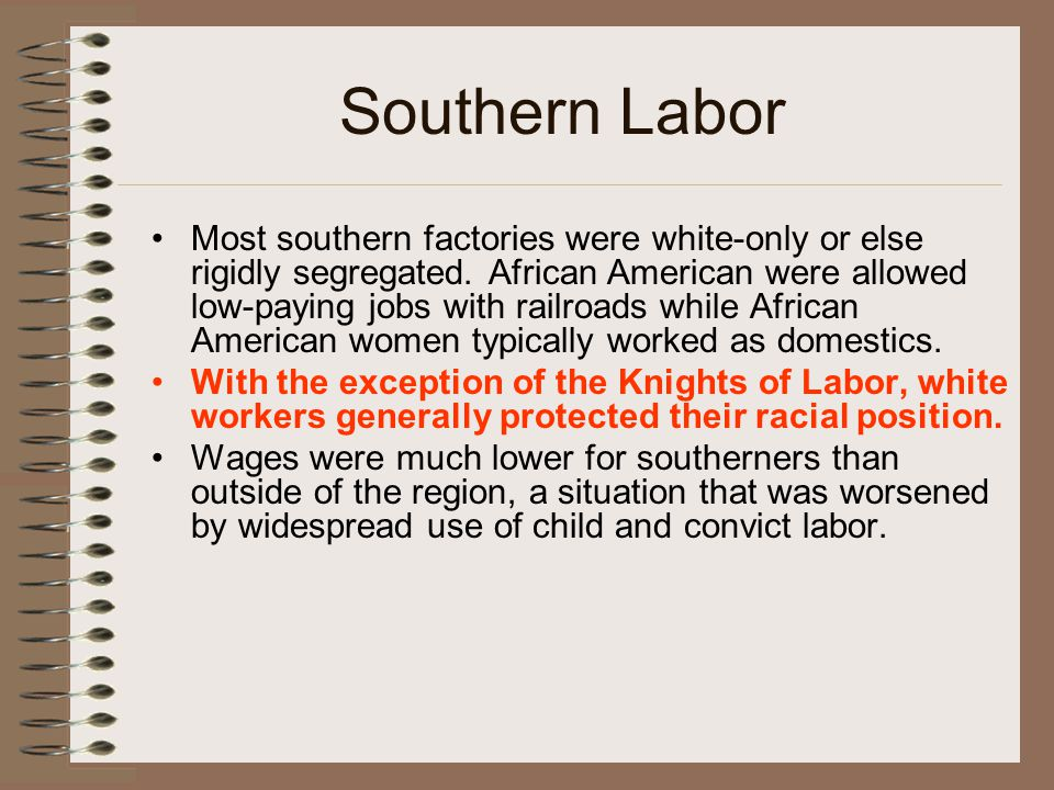 Southern Labor
