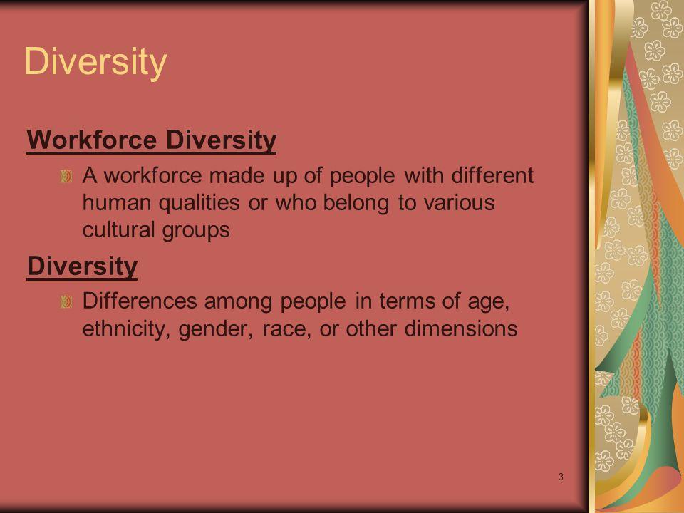 Diversity Workforce Diversity Diversity