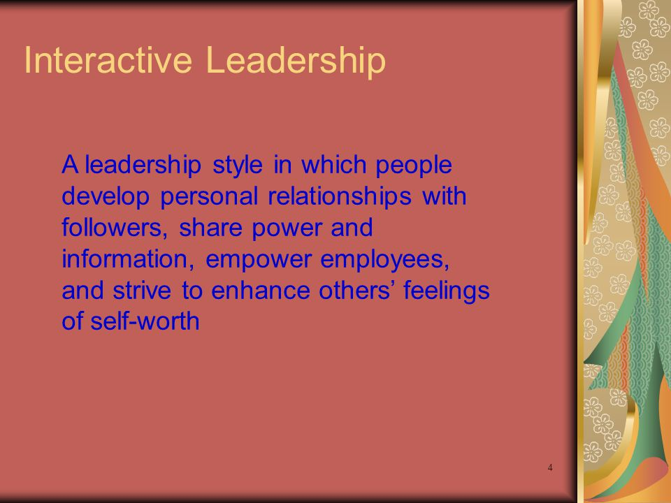 Interactive Leadership