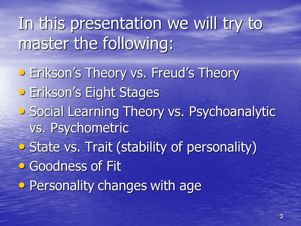 In this presentation we will try to master the following: