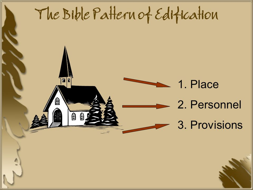 The Bible Pattern of Edification