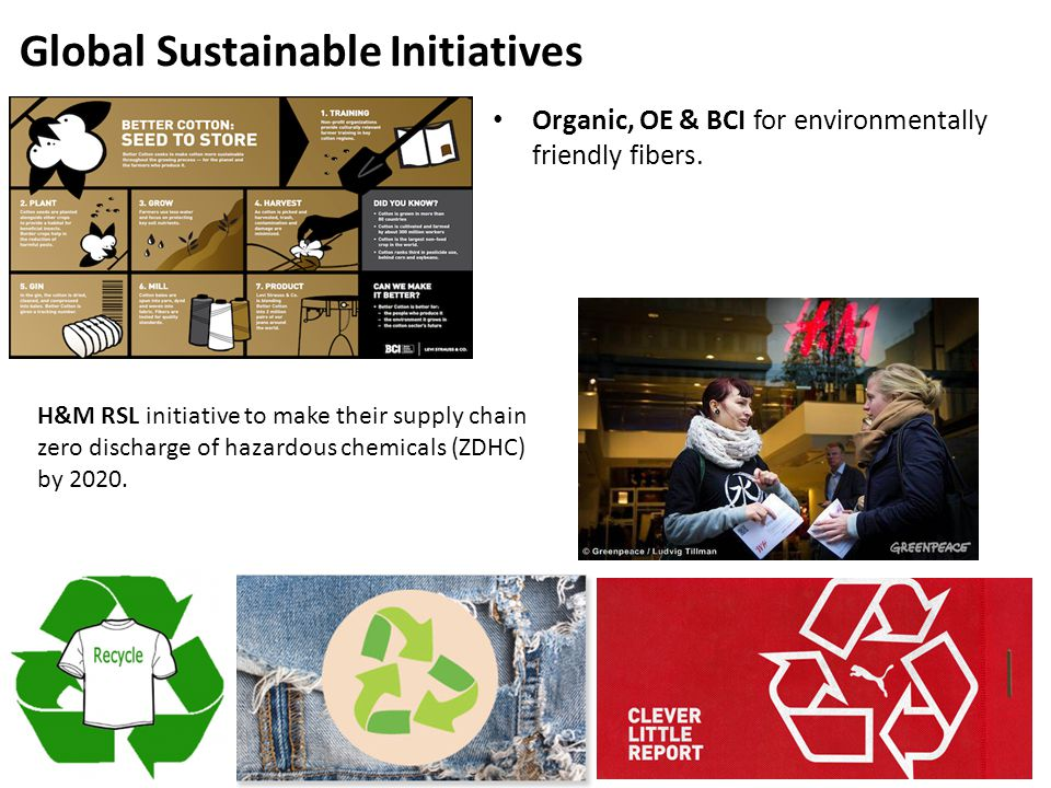 Global Sustainable Initiatives