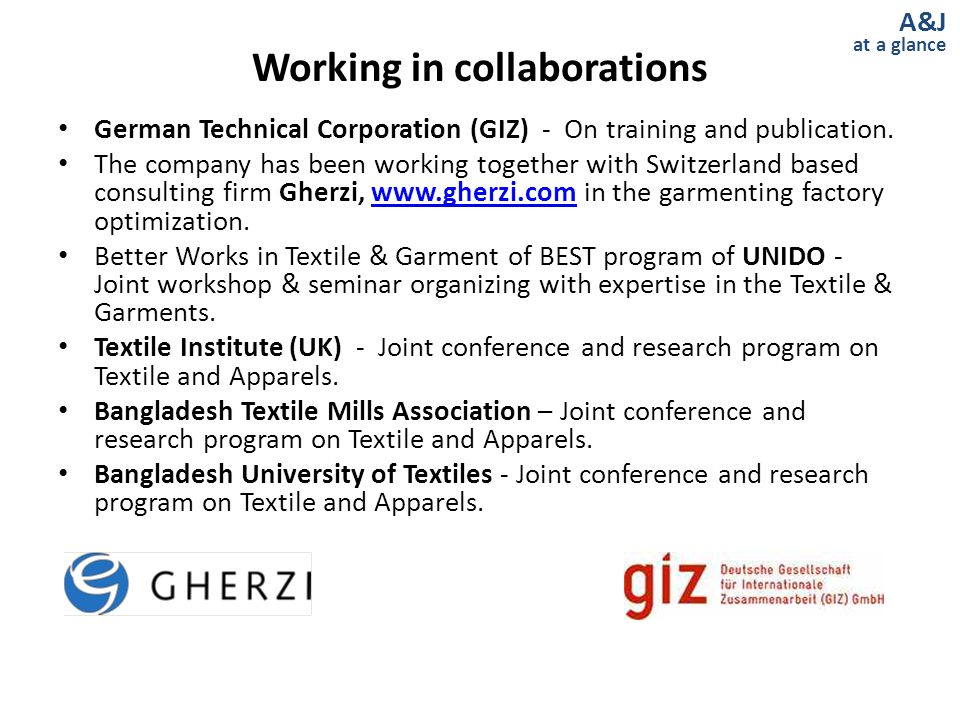 Working in collaborations