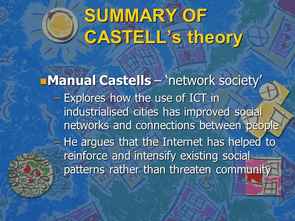 SUMMARY OF CASTELL's theory