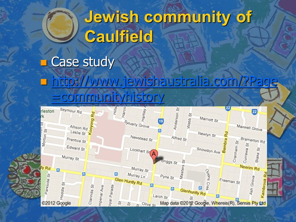 Jewish community of Caulfield
