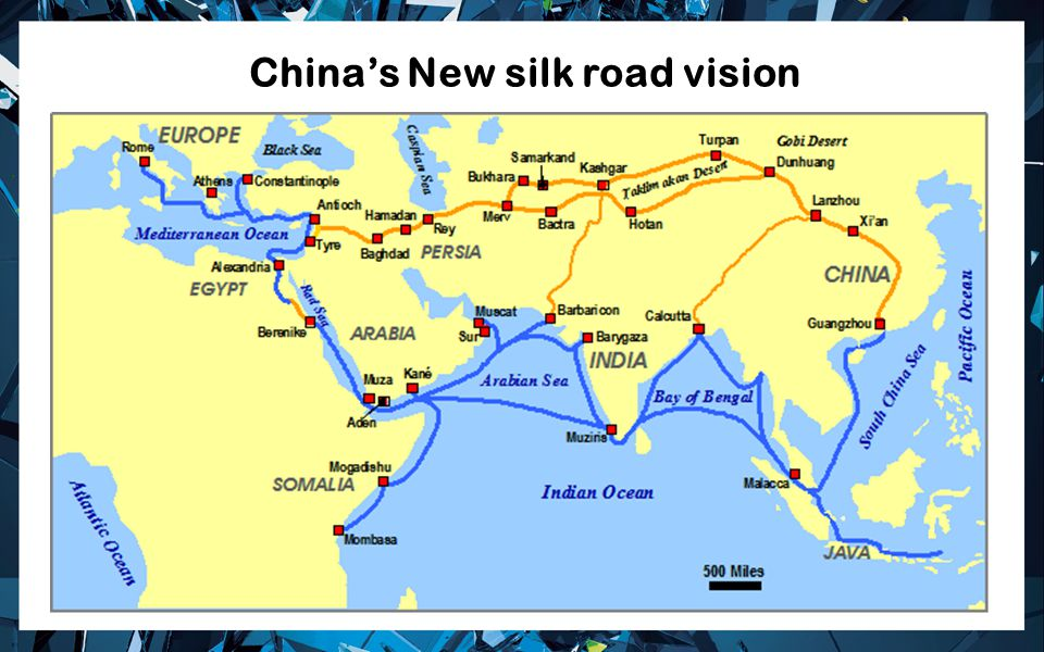 China's New silk road vision