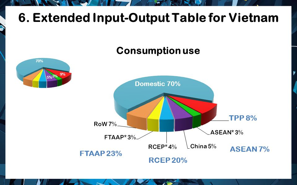 6. Extended Input-Output Table for Vietnam