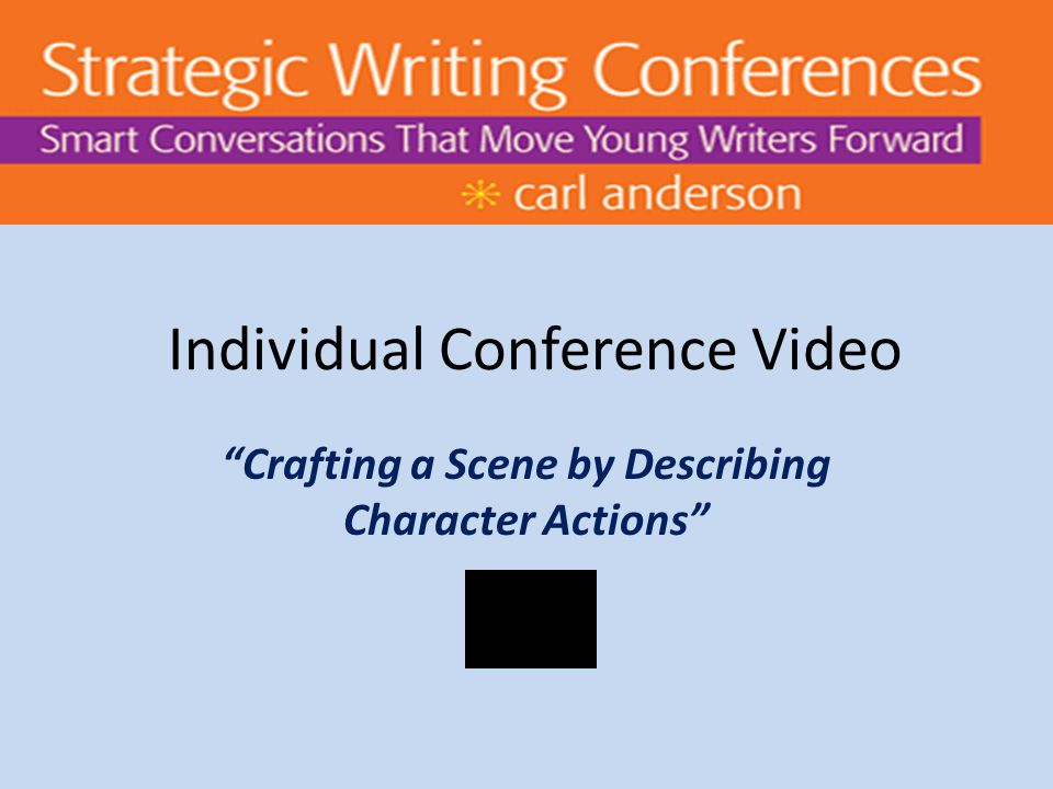 Individual Conference Video