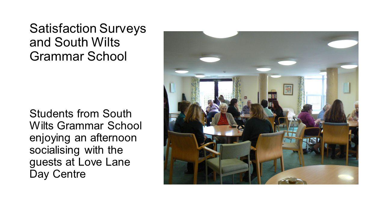Satisfaction Surveys and South Wilts Grammar School