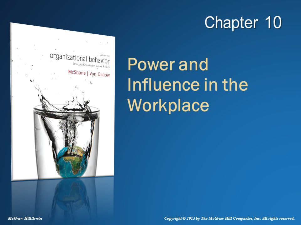 power and influence workplace Using positive power in the workplace admin | march 4, 2015 as a leader in the workplace, one is given many responsibilities that range from banal to exciting one responsibility that isn't.
