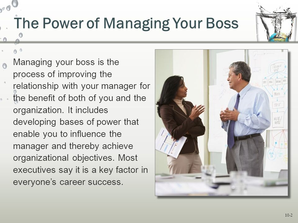 The Power of Managing Your Boss
