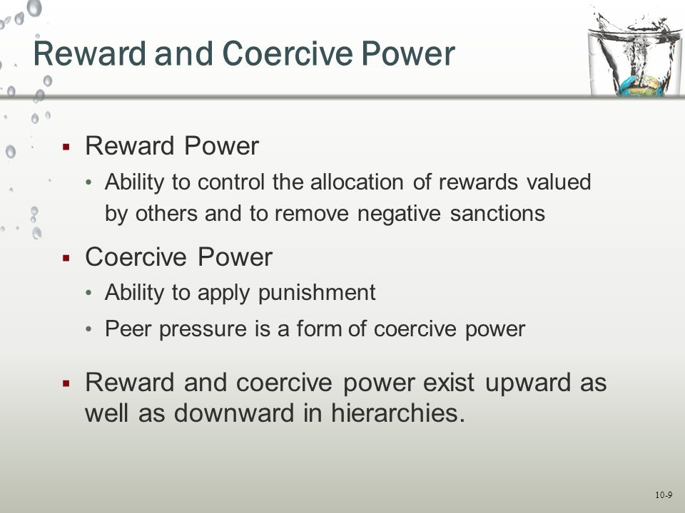 Reward and Coercive Power
