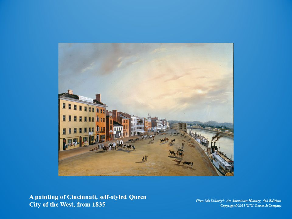 Painting of Cincinnati