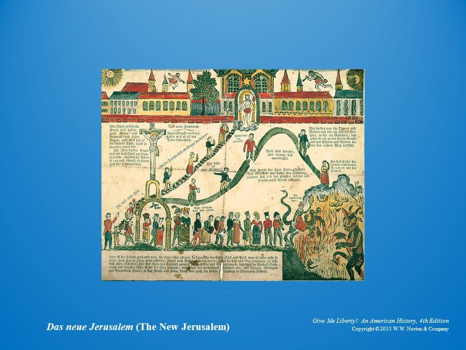 Painting Das neue Jerusalem