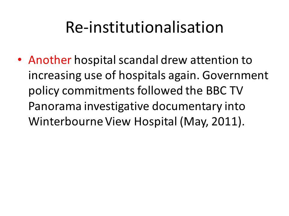 Re-institutionalisation