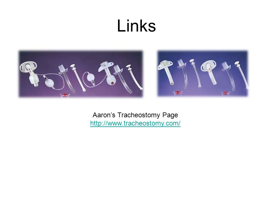 Aaron's Tracheostomy Page