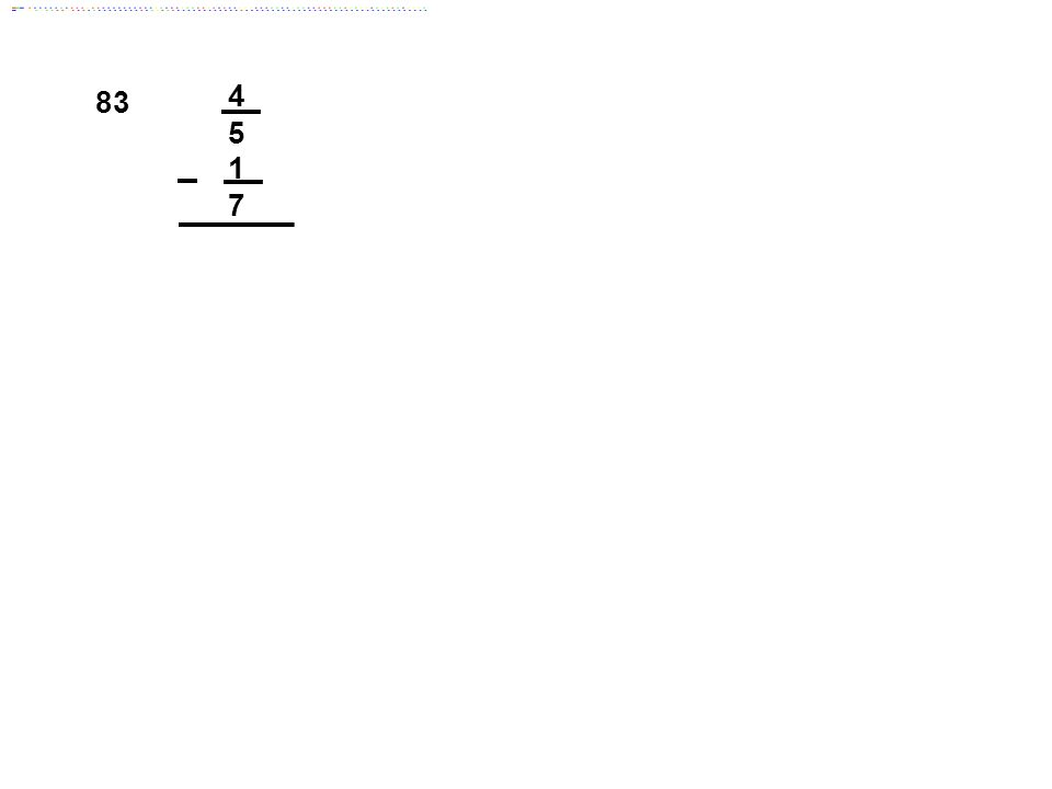 83 4 5 1 7 Answer: 23/35