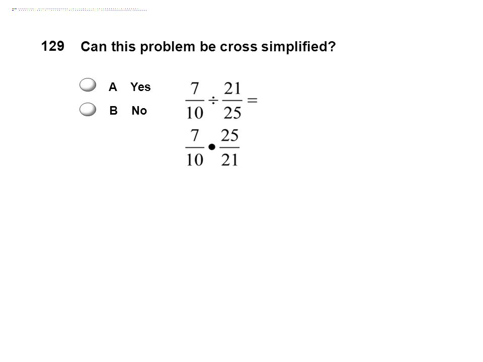 Can this problem be cross simplified