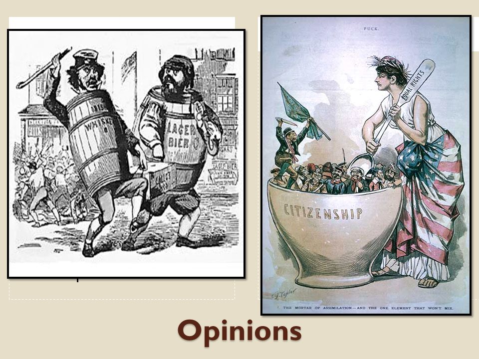 Opinions New immigrants won't assimilate