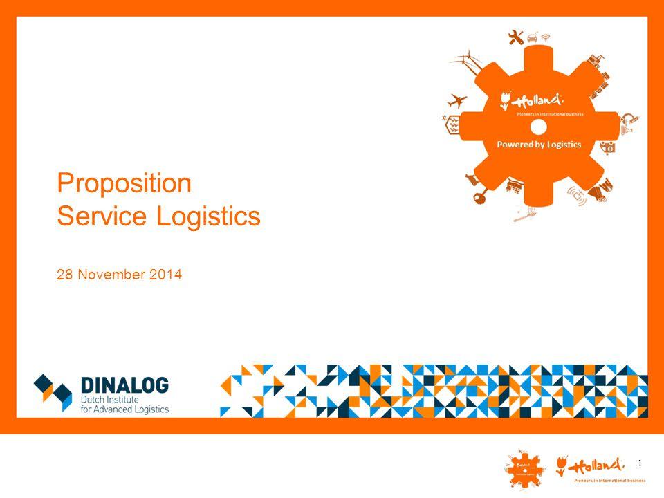 Proposition Service Logistics 28 November 2014