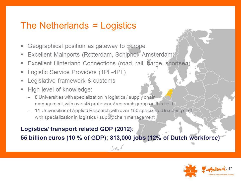 The Netherlands = Logistics