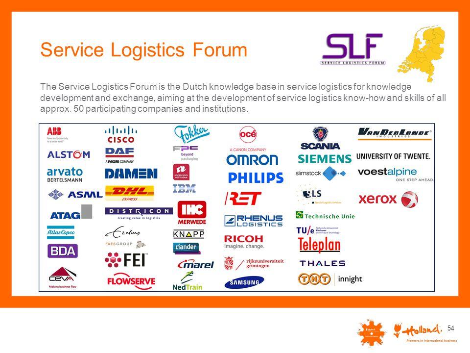 Service Logistics Forum
