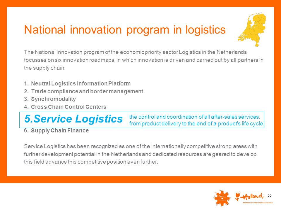 National innovation program in logistics