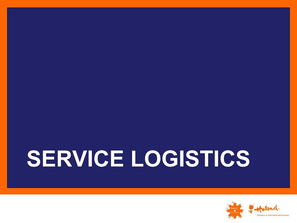 Service logistics