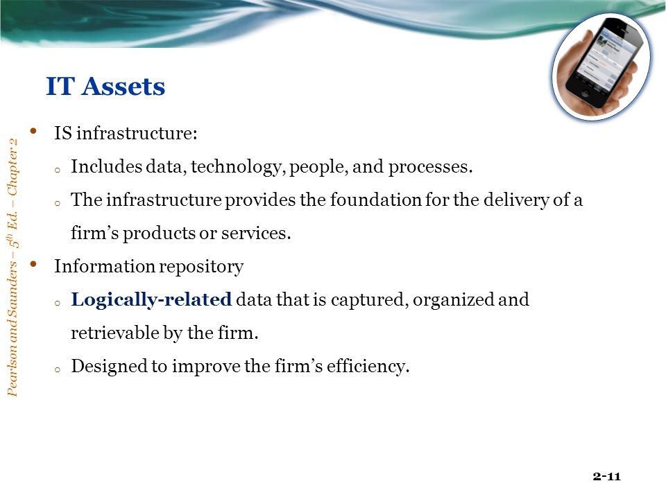 IT Assets IS infrastructure: