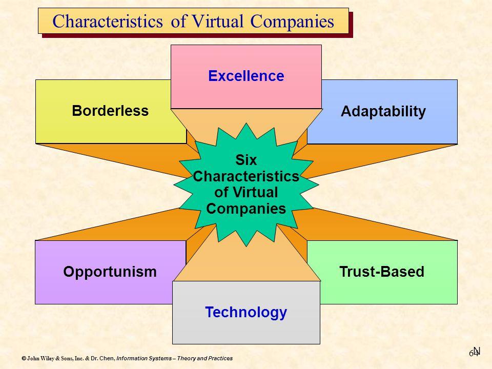 Characteristics of Virtual Companies