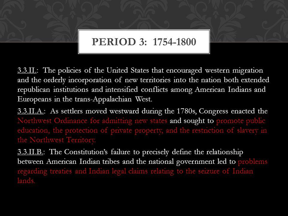 Period 3: 1754-1800